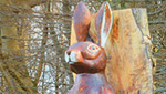 Irish Hare Sculpture