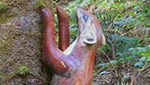 The Pine Marten Sculpture